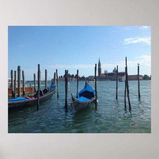 Lona de Venecia Poster