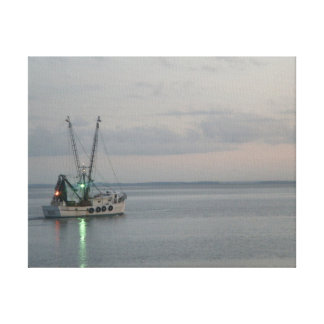 Lona del barco de pesca lona estirada galerías