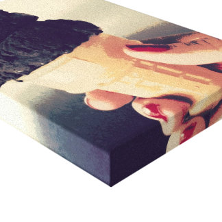 Lona del cono del chocolate impresiones en lienzo estiradas