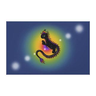 Lona del dragón del arco iris lona estirada galerias
