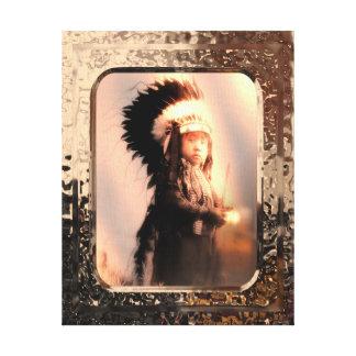 Lona del explorador impresión en lienzo