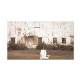 Lona del granero del país lona envuelta para galerías