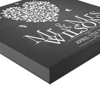 Lona del libro de visitas de la impresión de la impresión en lienzo estirada