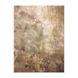 Lona del muro de cemento lienzo envuelto para galerías