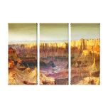 lona del panel del panorama 3 del Gran Cañón Impresión En Lona Estirada