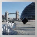 Lona del puente de Londres Poster