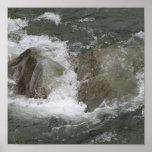 Lona del río que rabia impresiones