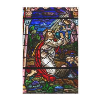 Lona del vitral impresiones en lienzo estiradas