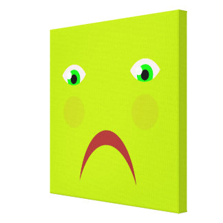 Lona enferma de sensación de la caja impresión en lienzo