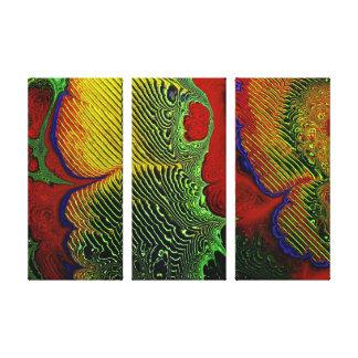 Lona envuelta 1-10 del arte del fractal impresiones de lienzo