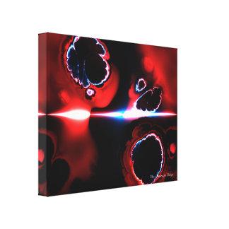 Lona envuelta 1-7 del arte del fractal impresiones de lienzo
