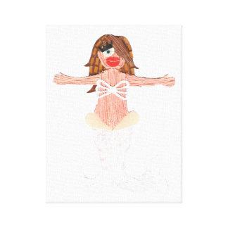 Lona envuelta ancla de la sirena lona estirada galerias