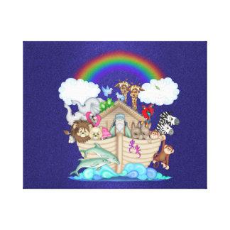 Lona envuelta arca de Noahs Impresion De Lienzo