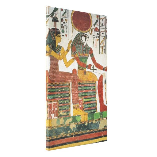 Lona envuelta arte antiguo de Horus del egipcio Lona Estirada Galerías