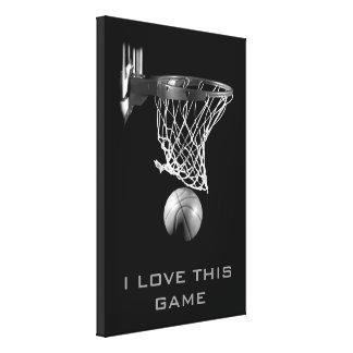 Lona envuelta baloncesto blanco negro