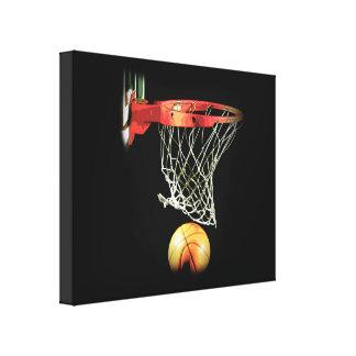 Lona envuelta baloncesto impresiones en lona