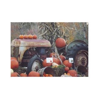 Lona envuelta cosecha de la caída lienzo envuelto para galerías