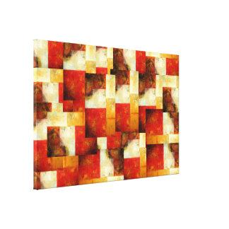 Lona envuelta creativa del arte abstracto impresiones en lona