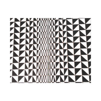 Lona envuelta de la ilusión óptica impresión en lienzo