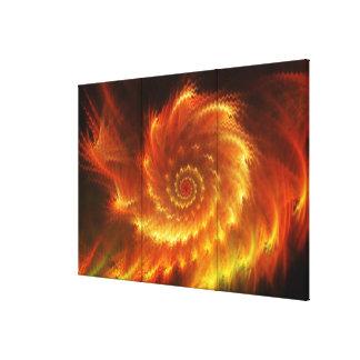 Lona envuelta del arte 5 del fractal lona estirada galerías