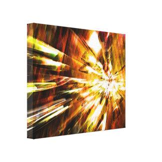 Lona envuelta del arte 6 radicales lienzo envuelto para galerias