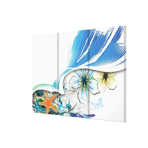Lona envuelta del arte abstracto 30