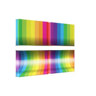 Lona envuelta del arte abstracto 6 lona estirada galerias