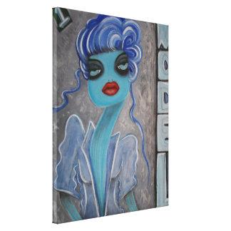 Lona envuelta del modelo 1 lienzo envuelto para galerías