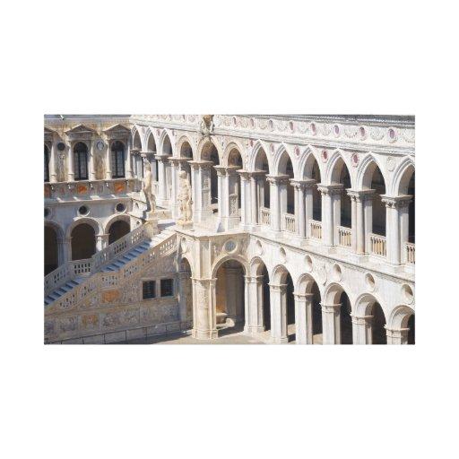 Lona envuelta Ducale de Palazzo Lona Estirada Galerías