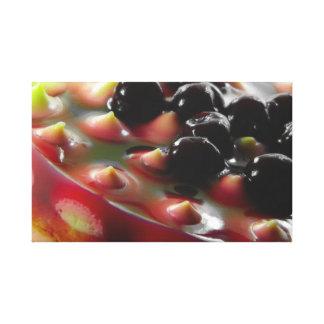 Lona envuelta empanada de la cereza impresiones de lienzo