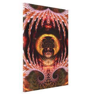Lona envuelta fantasía del arte del fractal del ár impresion en lona