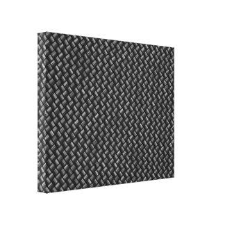 Lona envuelta fibra de carbono impresion de lienzo