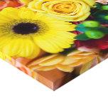 Lona envuelta flor mezclada lona estirada galerias