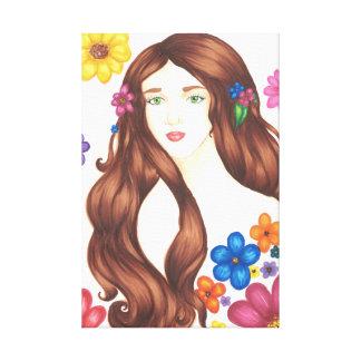 """Lona envuelta florista (16"""" x 24"""") lona estirada galerías"""