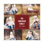 Lona envuelta foto de encargo cuadrada del collage lona envuelta para galerías