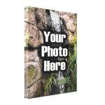 Lona envuelta foto de encargo impresión de lienzo