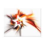Lona envuelta fractal: La estrella del diablo Impresiones En Lona Estiradas