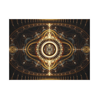 Lona envuelta fractal: Todo el ojo que ve Impresiones En Lona Estiradas