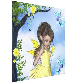 Lona envuelta Gigi del Faerie del duende de la chi Lona Estirada Galerías