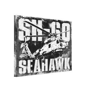 Lona envuelta halcón del mar impresiones en lona