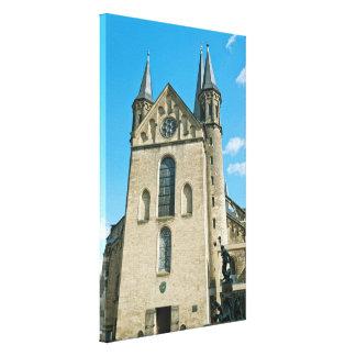 Lona envuelta iglesia de monasterio impresiones en lona