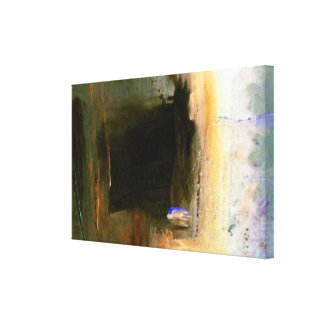 Lona envuelta ilustraciones abstractas coloridas lona envuelta para galerias