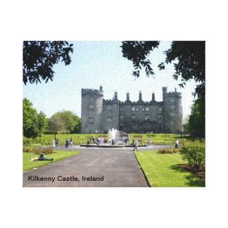 Lona envuelta imagen irlandesa lienzo envuelto para galerias
