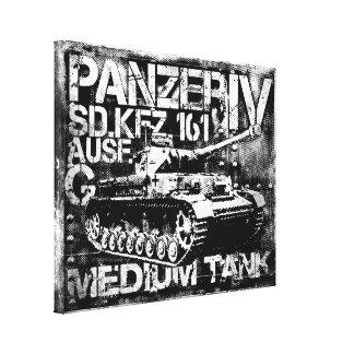 Lona envuelta IV de Panzer Impresión En Lienzo