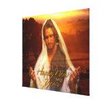 Lona envuelta Jesús de la Feliz Año Nuevo Impresion En Lona