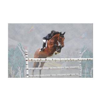 Lona envuelta Jumper-Fog-2 de Grand Prix Lona Estirada Galerías