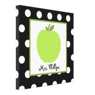Lona envuelta lunar verde de Apple para el profeso Impresion En Lona