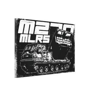 Lona envuelta MLRS M270 Impresión En Lona