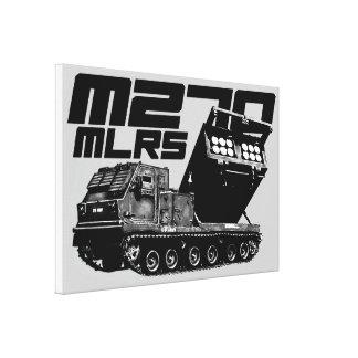 Lona envuelta MLRS M270 Impresiones En Lienzo Estiradas