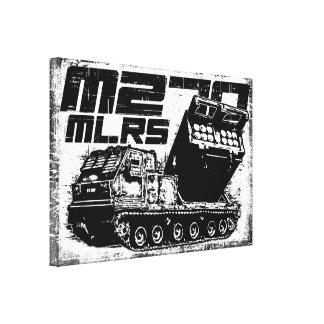 Lona envuelta MLRS M270 Lona Envuelta Para Galerias